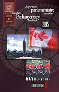cover of The Canadian Parliamentary Handbook 2011, 29TH edition by John Bejermi